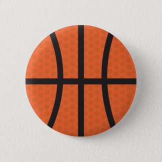 Basketball - Basketball 6 Cm Round Badge