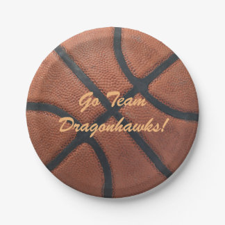 Basketball BBall Party 7 Inch Paper Plate