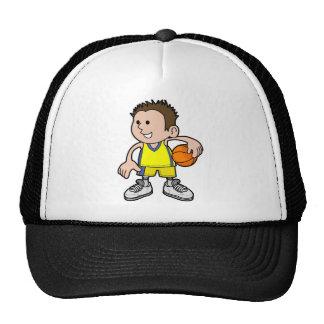 basketball boy mesh hats