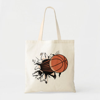 Basketball Breakout Tote Bag