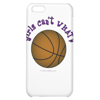 Basketball - Brown/Purple iPhone 5C Cases