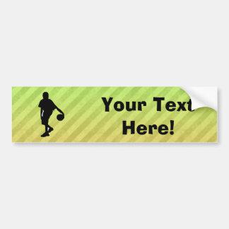 Basketball Car Bumper Sticker