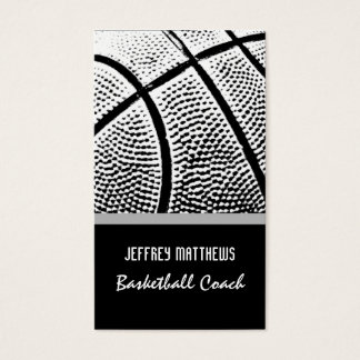 Basketball Business Card