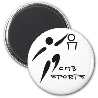 Basketball C.M.B.SPORTS 6 Cm Round Magnet