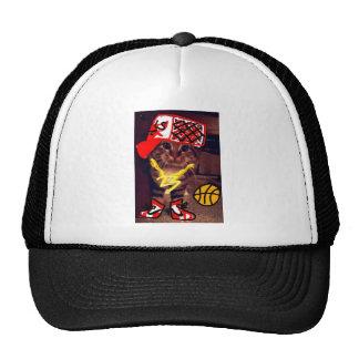 Basketball Cat Trucker Hat