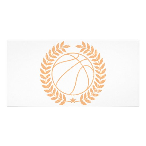 Basketball Champions Graphic Photo Greeting Card