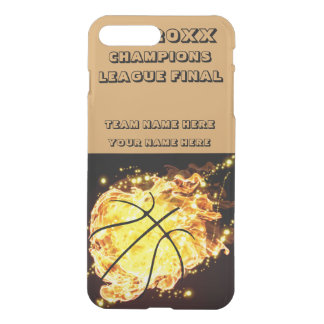 Basketball Champions League Final Gold Flame iPhone 7 Plus Case