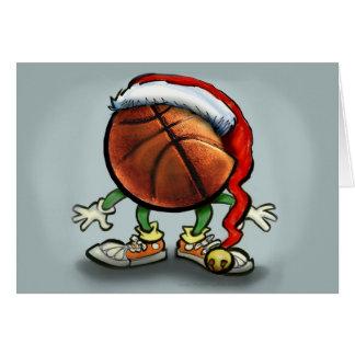 Basketball Christmas Card