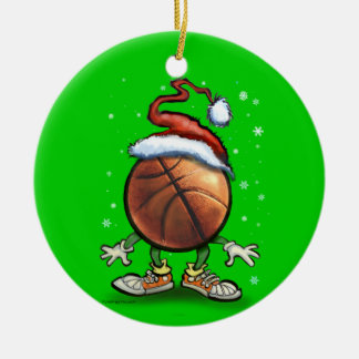 Basketball Christmas Christmas Ornament