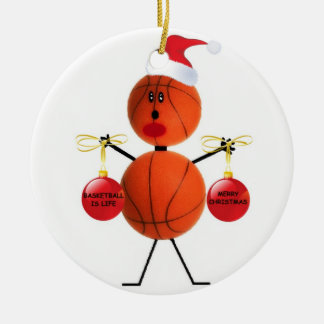 Basketball Christmas Christmas Ornament
