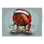 Basketball Christmas Greeting Cards