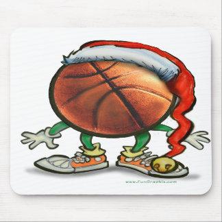 Basketball Christmas Mouse Pads