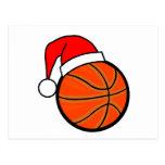 Basketball Christmas Post Card