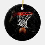 Basketball Christmas Tree Ornaments