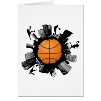 Basketball City Card