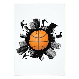 Basketball City Card