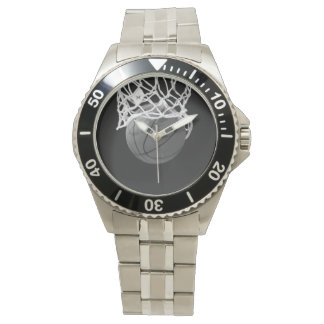 Basketball Classic Stainless Steel Watch