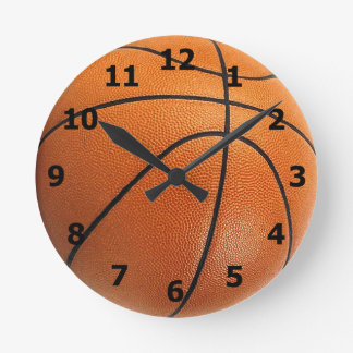 Basketball Clock with Numbers