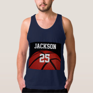 Basketball Close-up Sports custom clothes Tank Top