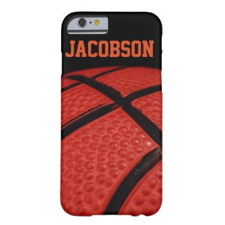Basketball Close-up Sports Team Barely There iPhone 6 Case