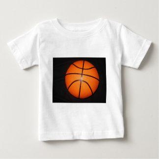 Basketball Close-Up Texture Skin Baby T-Shirt