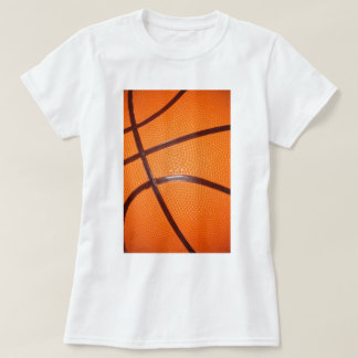 Basketball Close-Up Texture Skin T-shirts