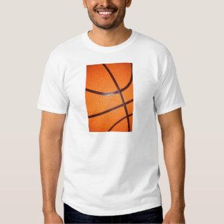 Basketball Close-Up Texture Skin Tee Shirt