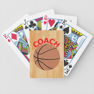 Basketball Coach Bicycle Playing Cards Decks