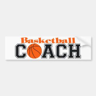 Basketball Coach Bumper Sticker