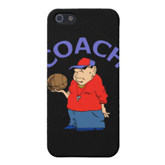 Basketball Coach Cartoon iPhone 5 Covers