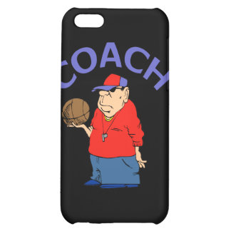 Basketball Coach Cartoon iPhone 5C Cases