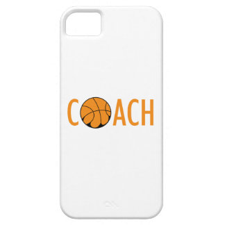 BASKETBALL COACH BARELY THERE iPhone 5 CASE