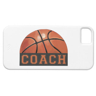 Basketball Coach iPhone 5 Cases