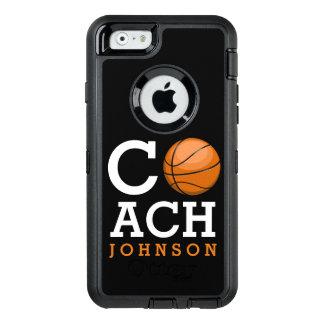 Basketball Coach Custom Name OtterBox iPhone 6/6s Case