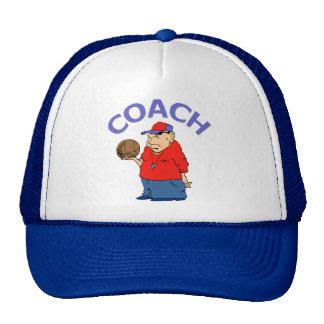 Basketball Coach Design Trucker Hats