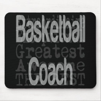 Basketball Coach Extraordinaire Mouse Pad