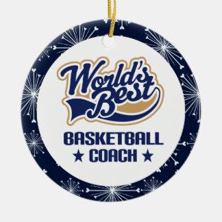 Basketball Coach Gift Ornament