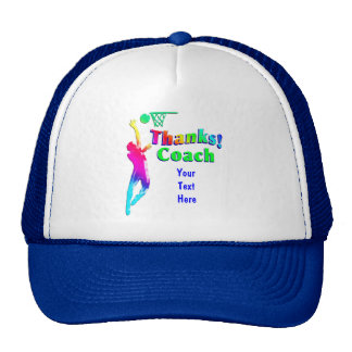 Basketball Coach Hoops Thank You Hat