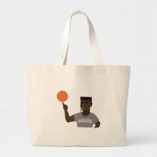 Basketball Coach Jumbo Tote Bag