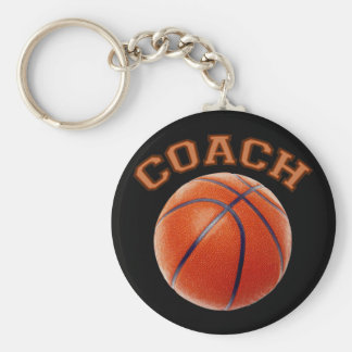 Basketball Coach Key Ring