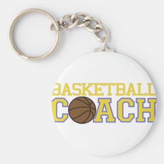 Basketball Coach Key Ring