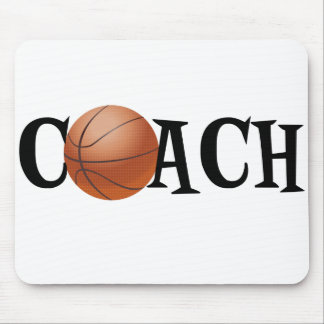 Basketball Coach Mouse Mat