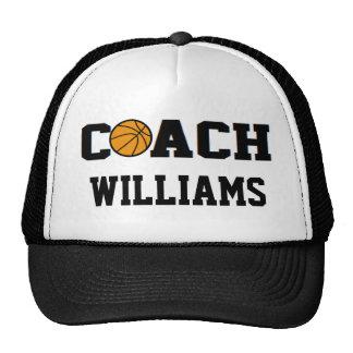 Basketball Coach - Personalized Trucker Hat