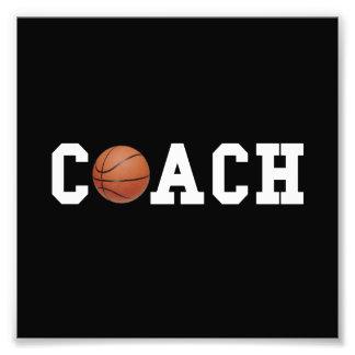 Basketball Coach Photo Print