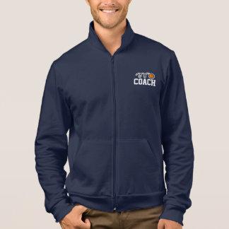 Basketball coach sports jacket for men