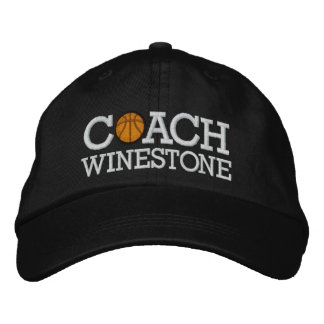 Basketball Coach - SRF Embroidered Hats