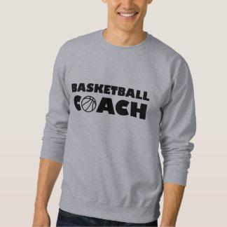 Basketball coach sweatshirt