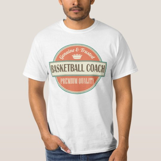 Basketball Coach Vintage Sports Mens T-shirt