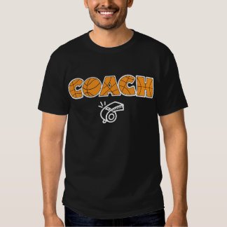 Basketball Coach whistle, white T Shirts