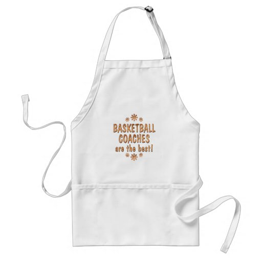 Basketball Coaches are the Best Apron